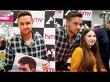 Liam Payne shrugs off Both Ways criticism as he poses with fans at Manchester signing