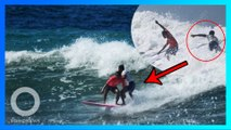 Relakan emas, surfer Filipina selamatkan surfer Indonesia di SEA Games 2019 - TomoNews