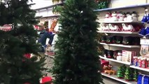 DIY Tree Flocking - Save yourself hundreds with this tree flocking trick!  Hometalk