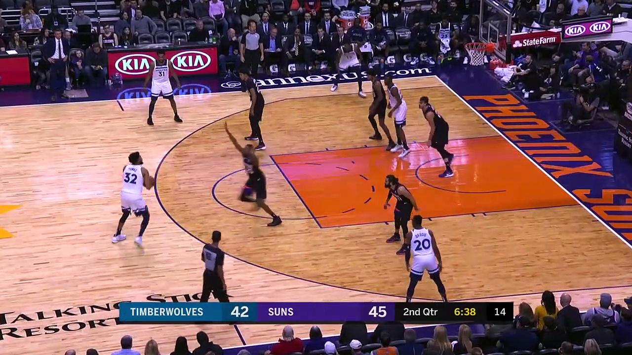 Minnesota Timberwolves 109 - 125 Phoenix Suns