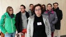 Les enseignants de Bollène et Valréas réunis avant de partir manifester à Avignon