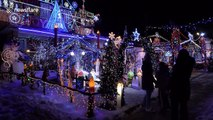 This Toronto home's festive display is like something out of a Christmas movie