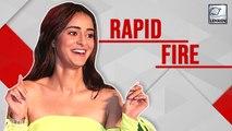 Ananya Panday's HONEST Rapid Fire | Pati Patni Aur Woh