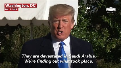Trump Says He Spoke With Saudi Crown Prince About Pensacola Shooting: 'They Are Devastated'