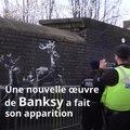 Banksy dévoile une nouvelle œuvre à Birmingham