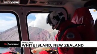New Zealand volcano eruption: Rescue workers search for those missing after blast on White Island