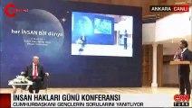 Canlı yayında Erdoğan'ın zor anları!  Beğendiği liderleri böyle açıkladı