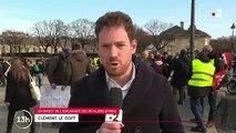 Manifestation contre la réforme des retraites: 6 000 policiers et gendarmes encadrent le cortège à Paris
