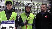 Engelliler tandem bisikletle 35 kilometre pedal çevirdi