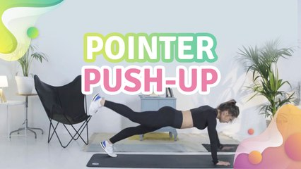 Pointer push-up - Step to Health