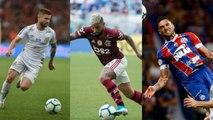 Top 10 dos artilheiros do Brasileirão 2019