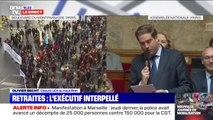 """Olivier Becht (UDI), interpelle Édouard Philippe sur la mobilisation contre la réforme des retraites et l'appelle à """"écouter le peuple silencieux"""""""