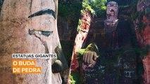 Estátuas gigantes: O buda de pedra