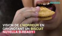 Nutella : il mange une tête de souris, en croquant dans son biscuit !
