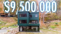 Inside a $9.5M Hudson River Home With A Lofted Playhouse