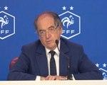 """Bleus - Le Graët : """"Aucune clause négative dans le contrat"""""""