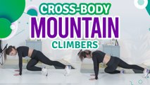 Cross-body mountain climbers - Fit People