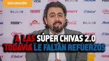En Chivas habrá 2 sorpresas más: Amaury Vergara