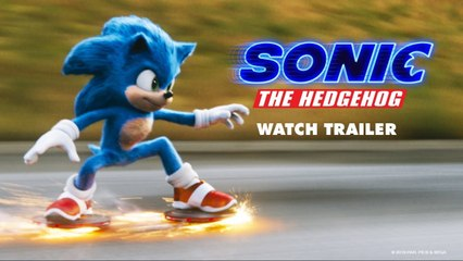 Sonic The Hedgehog Spanish Trailer