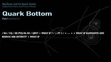 Big Boson and his Quark-Sextet - Quark Bottom (2019) subtitled