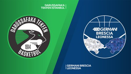 7Days EuroCup Highlights Regular Season, Round 9: Darussafaka 61-70 Brescia