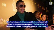 Nick Cannon Fires Back at Eminem in Ongoing Diss Track Battle