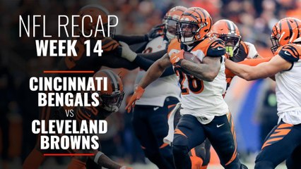 Week 14: Bengals v Browns