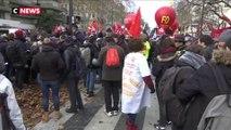 Paris : les manifestants affichent leur détermination contre la réforme des retraites