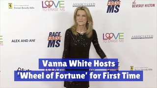 Vanna White Becomes A Host
