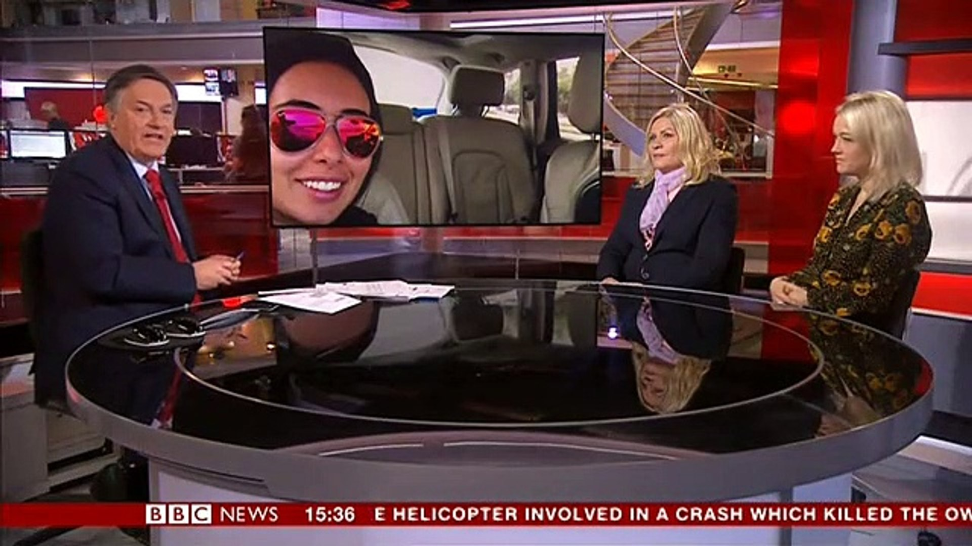 Afternoon Live (BBC News): Interview with Tiina Jauhiainen and Jane McMullen on