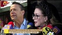 Laura Zapata ni se inmuta por las ofensas de Alfredo Adame. |  Ventaneando