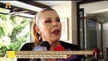 Ofelia Cano confirma que Susan Quintana se interpuso en su matrimonio. | Ventaneando