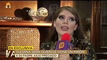 Yulianna Preciado, donará un riñón a su padre Julio Preciado.| Ventaneando