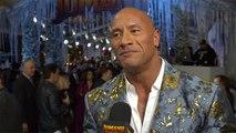 'Jumanji: The Next Level' Premiere: Dwayne Johnson