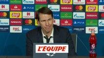 Garcia «Memphis Depay a un bon discours de capitaine» - Foot - C1 - OL