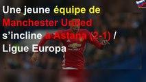 Une jeune équipe de Manchester United s'incline à Astana (2-1) / Ligue Europa