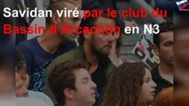 Savidan viré par le club du Bassin d'Arcachon en N3