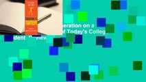 About For Books  Generation on a Tightrope  A Portrait of Todays College Student  Review
