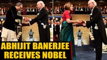 Abhijit Banerjee receives Economics Nobel in Dhoti-Bandhgala | OneIndia News