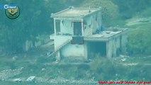 تدمير مقر عسكرية لميليشيا أسد ومقتل من بداخله غرب حماة