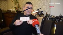 """""""Türkiye'de sadece bir tane var o da bende"""" dedi, 50 lirayı 50 bin liraya satışa çıkardı"""