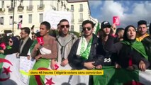 Algérie : l'abstention promet d'être massive pourla présidentielle contestée