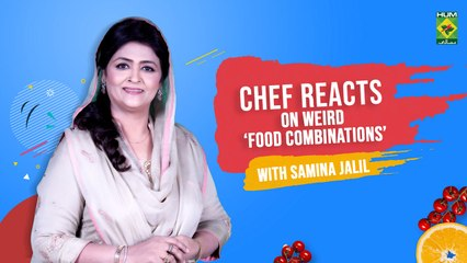 Samina Jalil Reacts On Weird Food Combinations | Masala TV