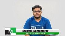 Face to Face with Swastik Samantaray (ECE) AIR-14 ESE-IES 2019 IES Master