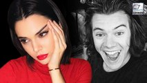 Kendall jenner Puts One Direction Singer Harry Styles In A Tight Spot