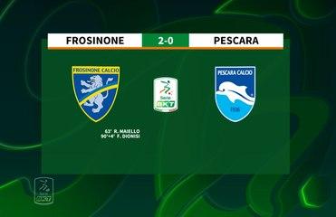 HIGHLIGHTS #FrosinonePescara 2-0 #SerieBKT