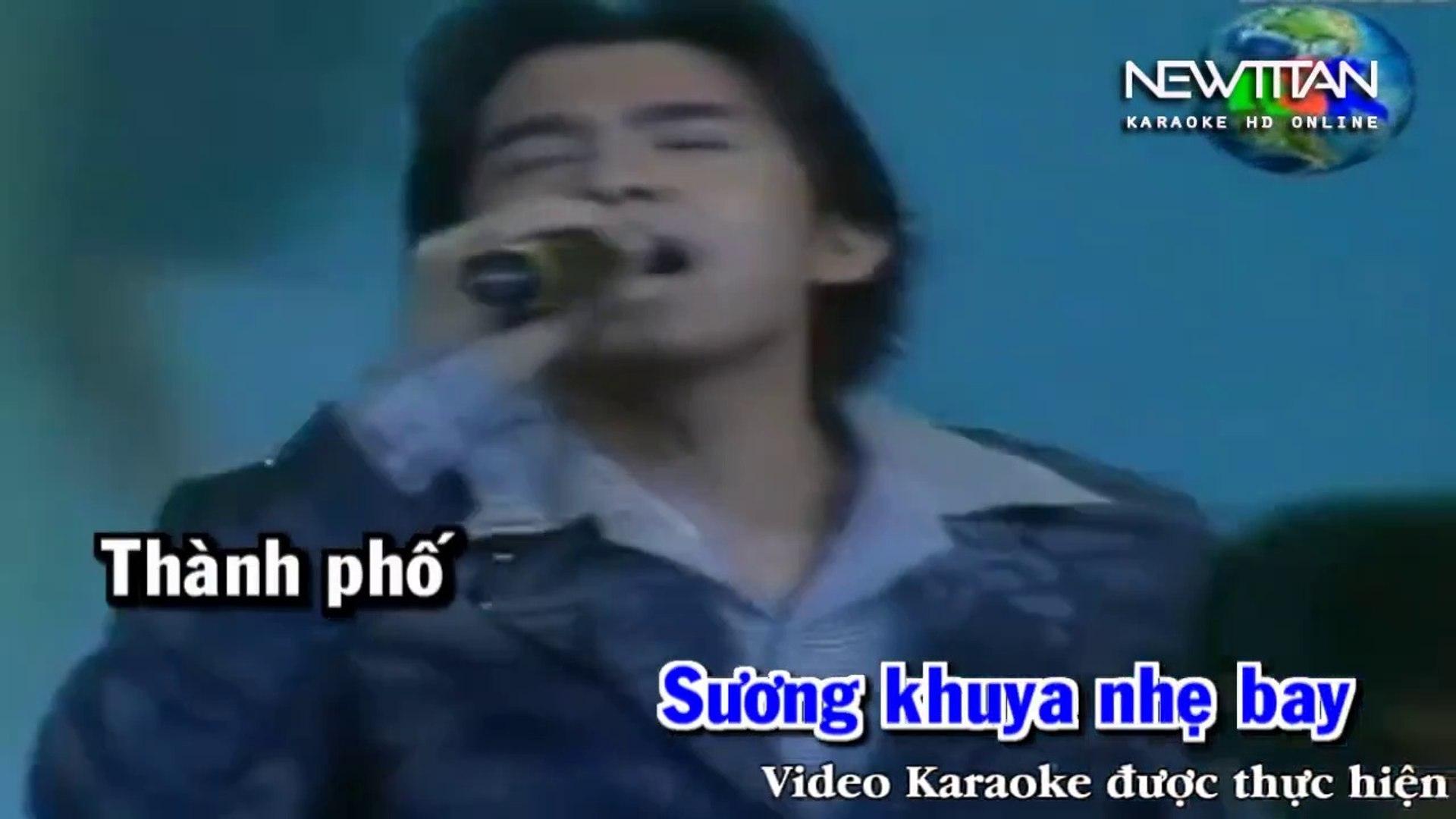 [Karaoke] Thành Phố Đêm Đầy Sao - Đan Trường [Beat]