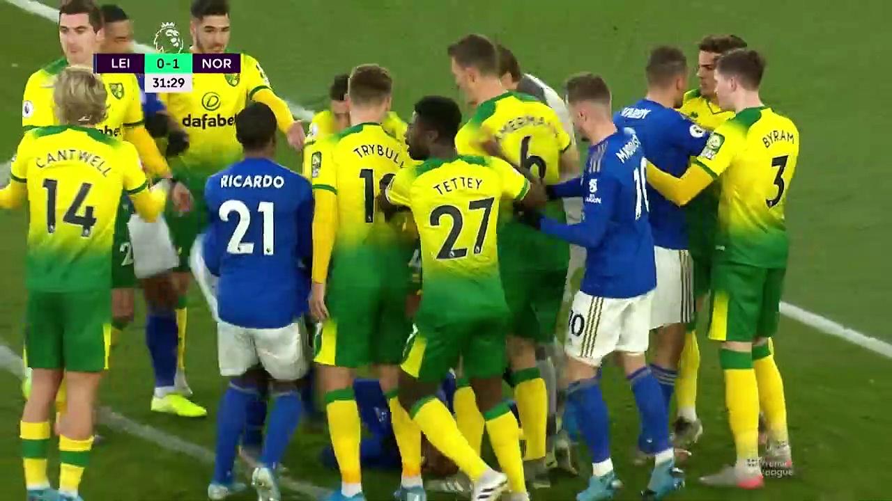 Leicester - Norwich (1-1) - Maç Özeti - Premier League 2019/20
