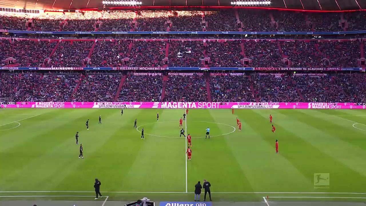 Bayern Münih - Werder Bremen (6-1) - Maç Özeti - Bundesliga 2019/20