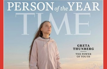 Greta Thunberg named Time Person of the Year